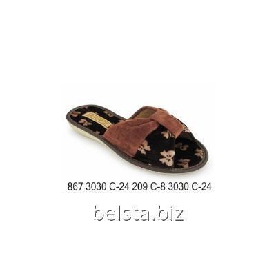 Тапочки женские 867/3030 С-24/209 С-8
