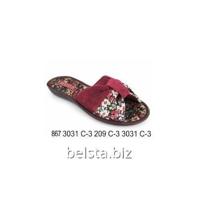 Тапочки женские 867/3031 С-3/209 С-3