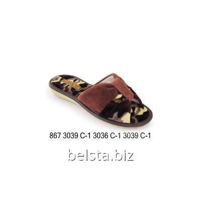 Тапочки женские 867/3039 С-1/3036 С-1