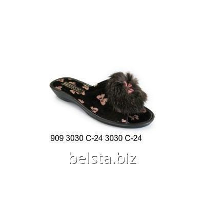 Тапочки женские 909 С-24 кор пуш