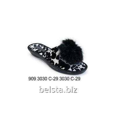 Тапочки женские 909 С-29 чер