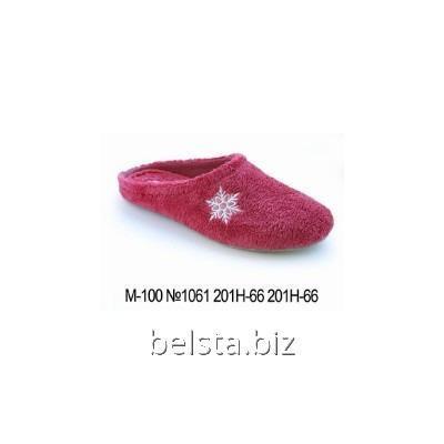 Тапочки женские М 100/1061/201 С-66