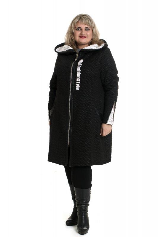 Купить Стильное женское пальто Анкара больших размеров 915А-4