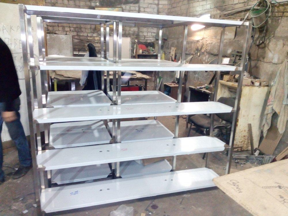 Стеллаж для посуды 1600х500х1800 5 полок