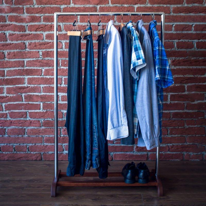 Стойка для одежды Fenster Аккорд Коричневый