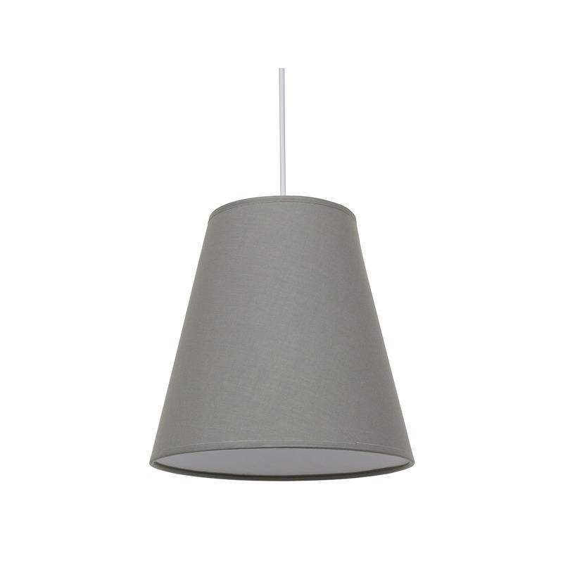 Купить Абажур Fenster Ампир D240 Светло-серый