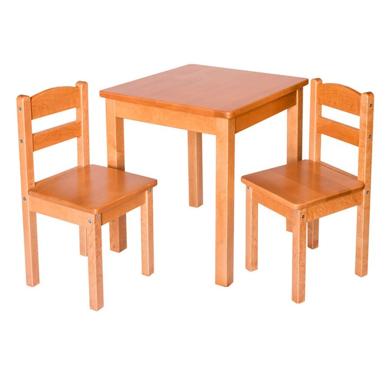 Детский стол с 2 стульями Fenster Юниор Натуральный