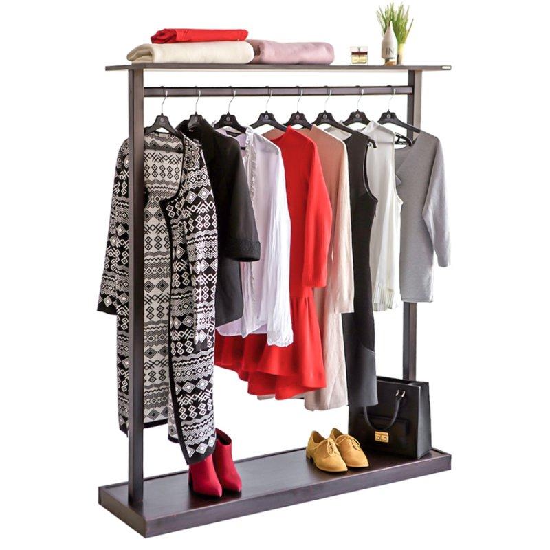 Напольная вешалка для одежды Fenster Дельта Венге