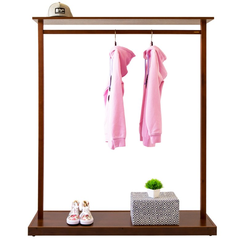 Купить Стойка для одежды Fenster Дельта Коричневый