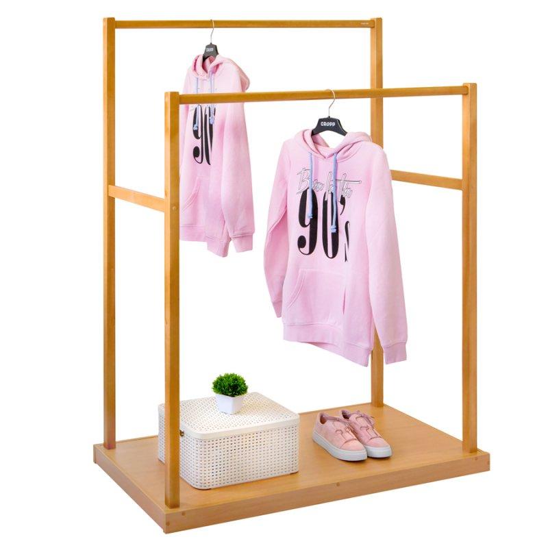 Напольная вешалка для одежды Fenster Дуэт Бук