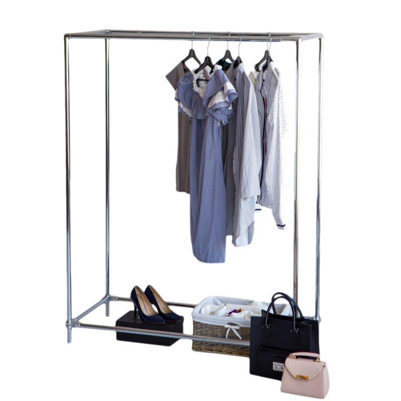 Стойка для одежды Fenster Бюс 2 Хром