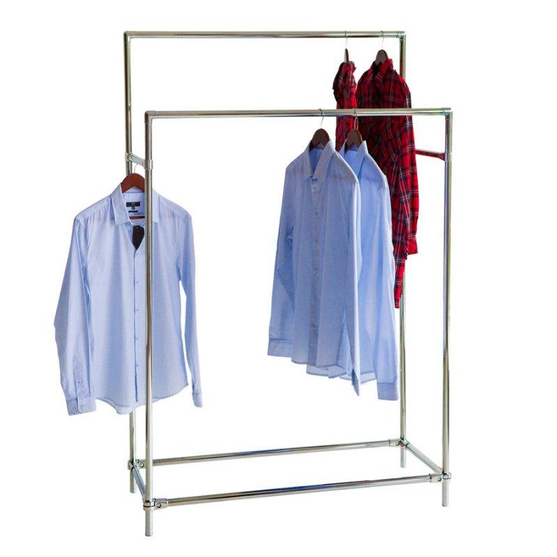 Стойка для одежды Fenster Бюс 5 Хром