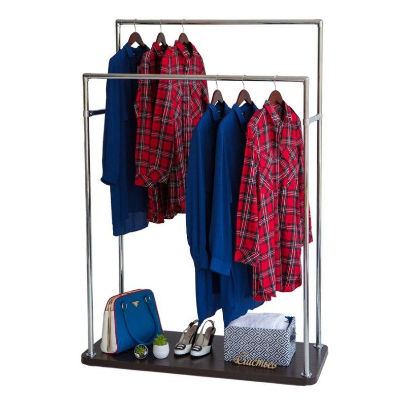 Стойка для одежды Fenster Бюс 6 Хром