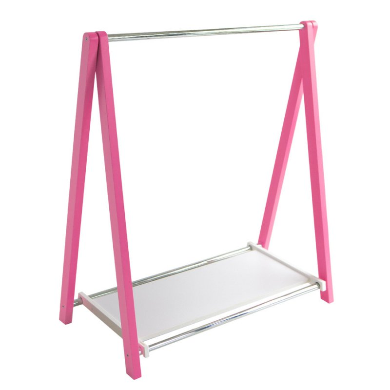 Стойка для одежды Fenster Модус 1П Розовый