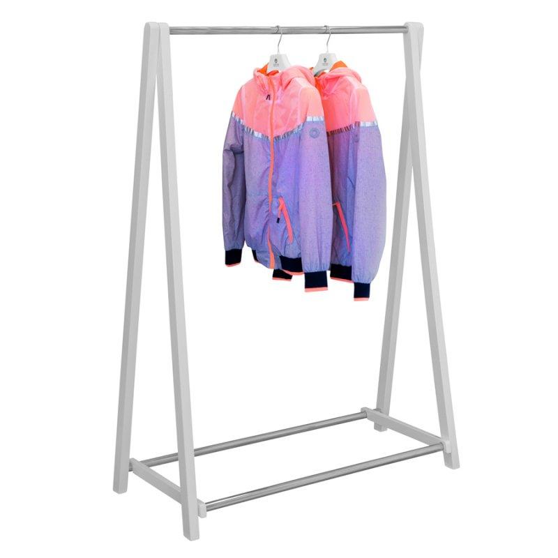 Напольная вешалка для одежды Fenster Модус 2 Белый 146x100x48,5