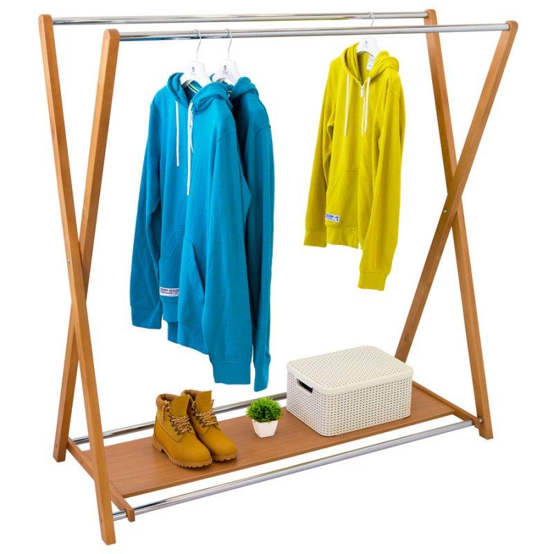 Стойка для одежды Fenster Модус 3П Бук 150x150x60
