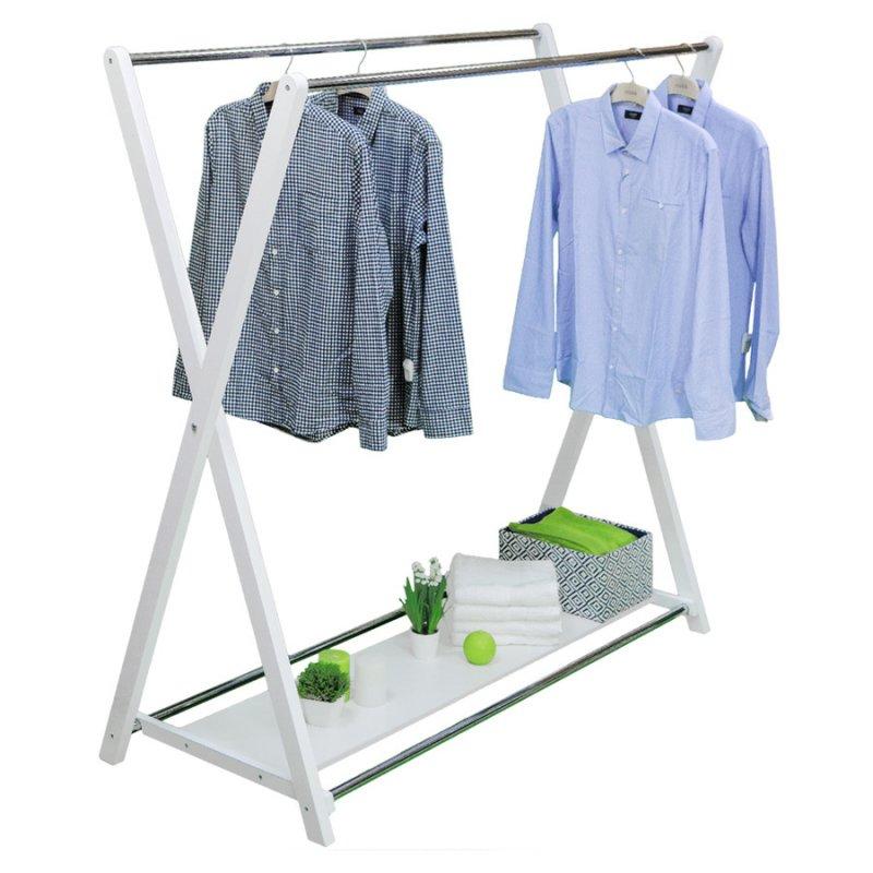 Купить Стойка для одежды Fenster Модус 3П Белый 150x150x60