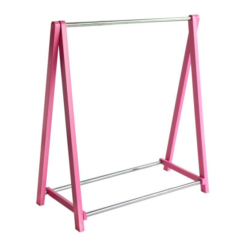 Стойка для одежды Fenster Лео 1 Розовый
