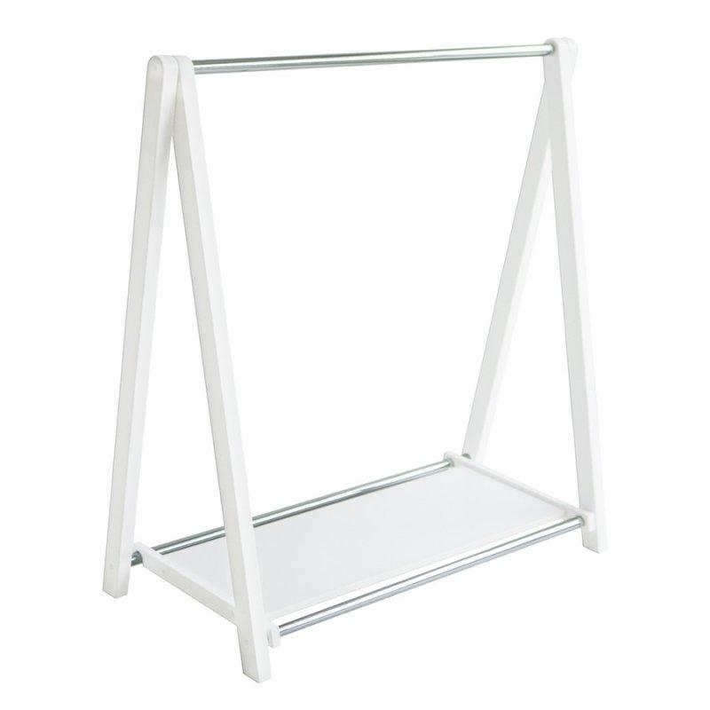 Стойка для одежды Fenster Лео 1П Белый