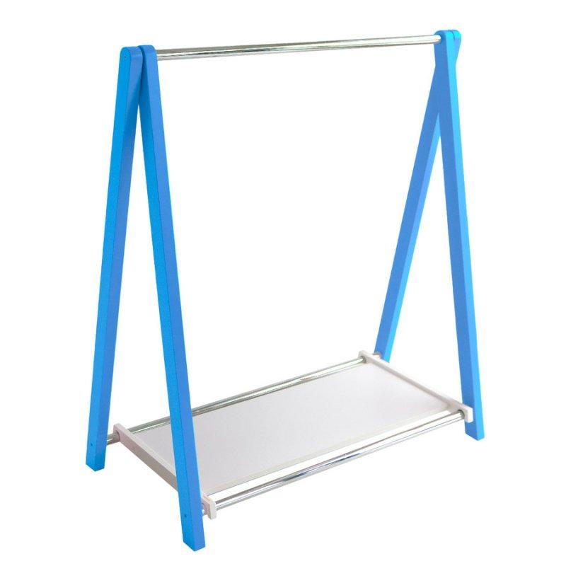 Стойка для одежды Fenster Лео 1П Синий