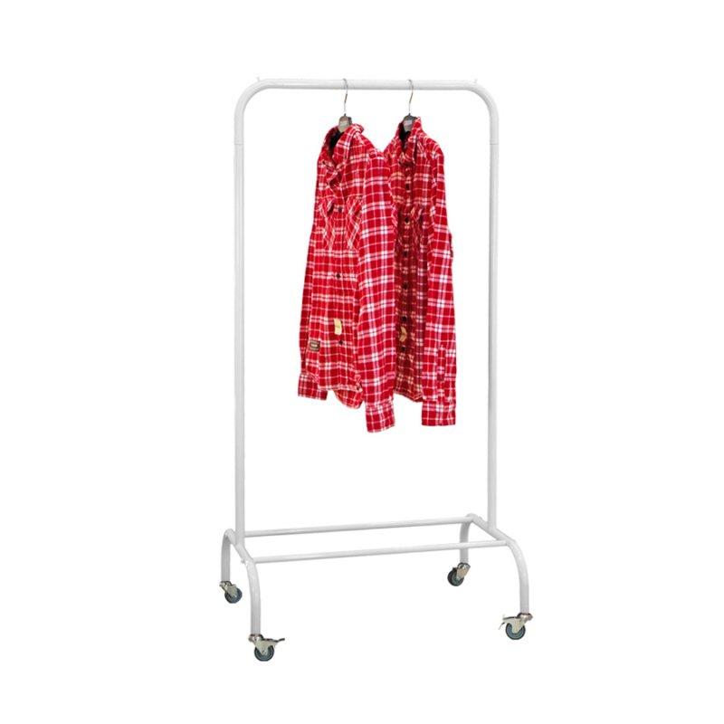 Стойка для одежды Fenster Лофт-пром 1А Белый 140х70х48,5