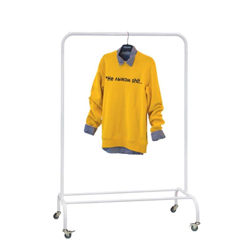 Стойка для одежды Fenster Лофт-пром 1Б Белый 140x100x48,5