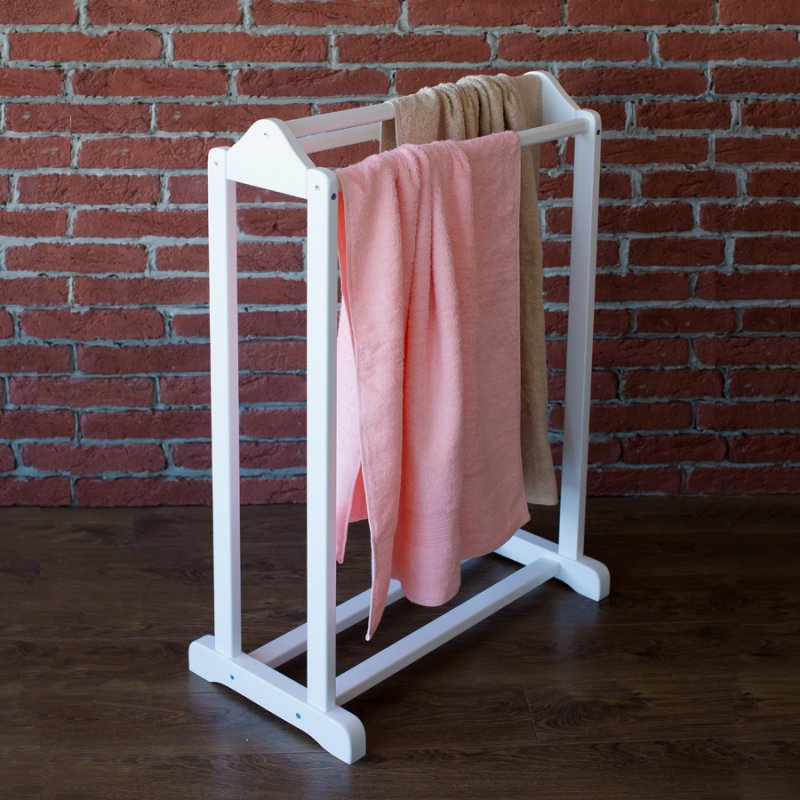 Напольная вешалка для полотенец Fenster Соната Белый