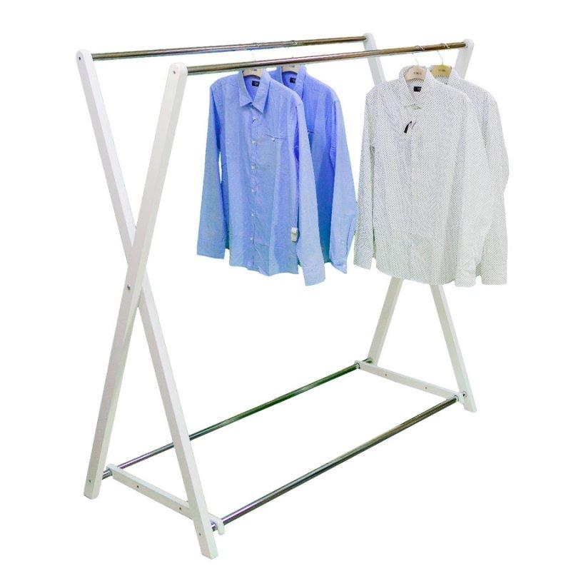 Стойка для одежды Fenster Модус 3 Белый 150x150x60