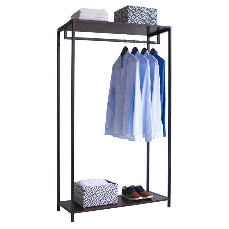 Стойка для одежды Fenster Квадро 7А Черный