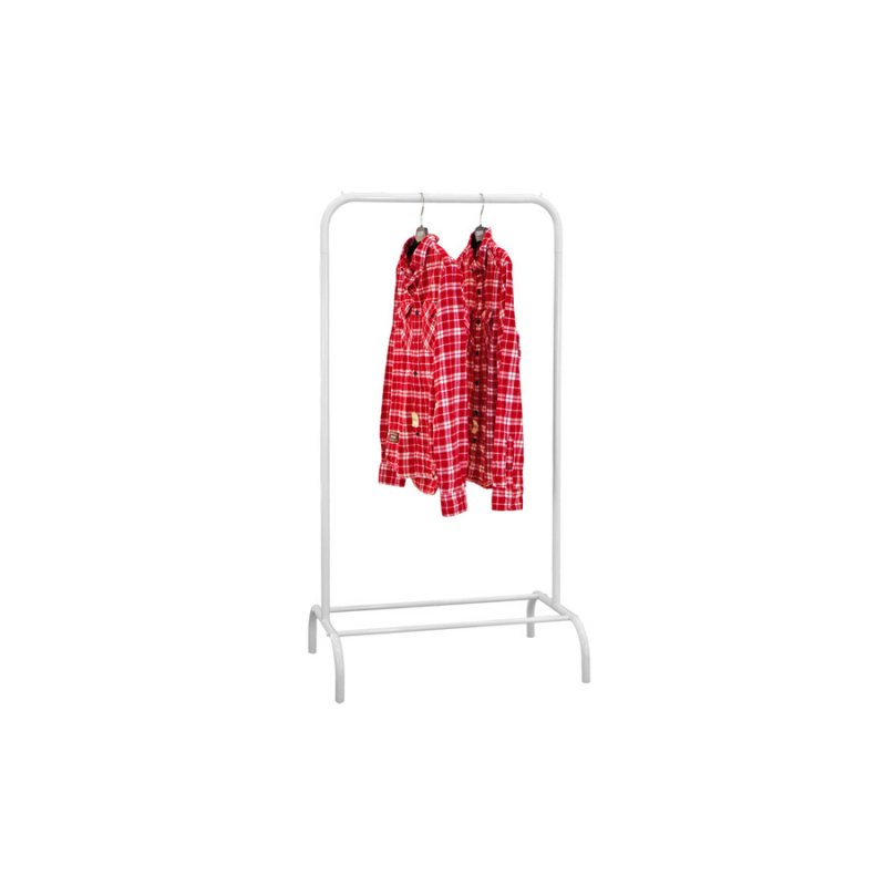 Купить Стойка для одежды Fenster Лофт 1А Белый 135х70х48,5