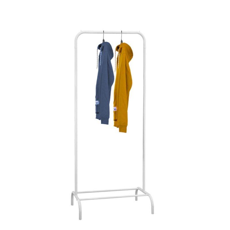 Стойка для одежды Fenster Лофт 1А Белый 185х70х48,5