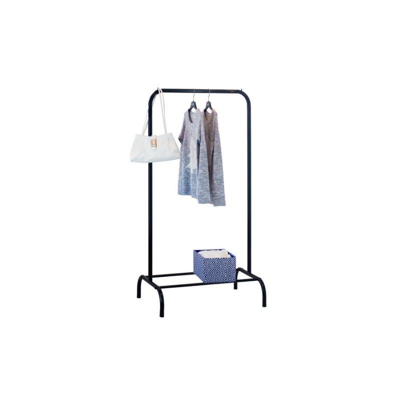 Стойка для одежды Fenster Лофт 1А Черный 135х70х48,5