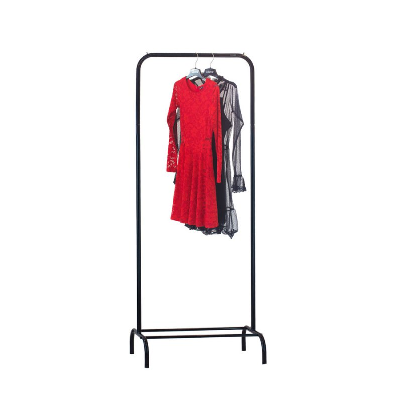 Стойка для одежды Fenster Лофт 1А Черный 185х70х48,5
