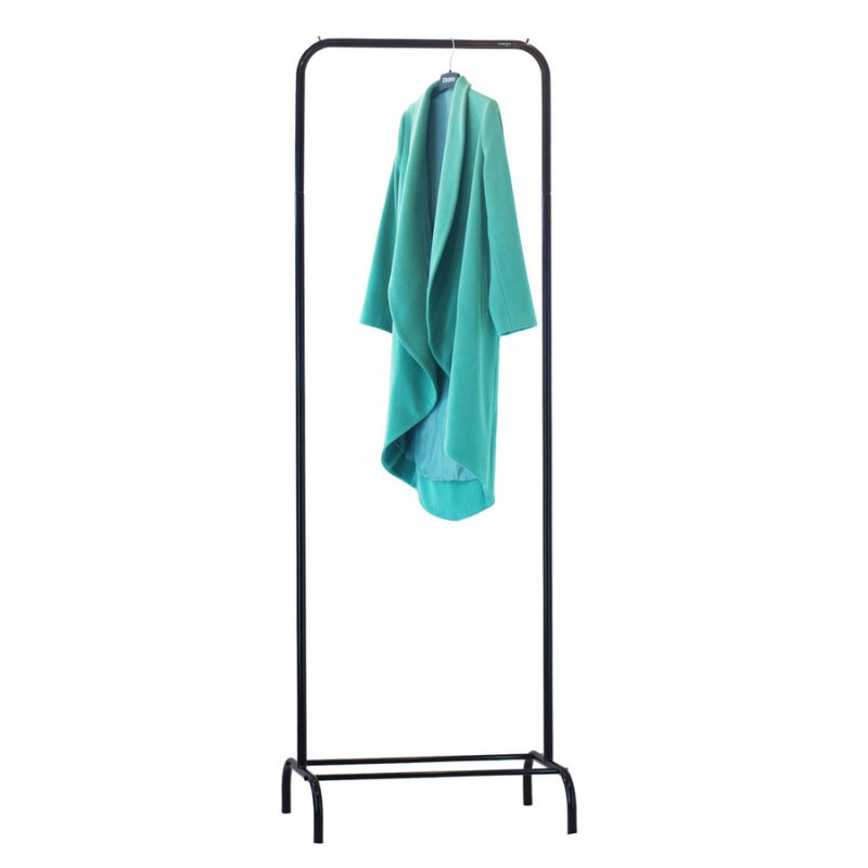 Стойка для одежды Fenster Лофт 1А Черный 210х70х48,5