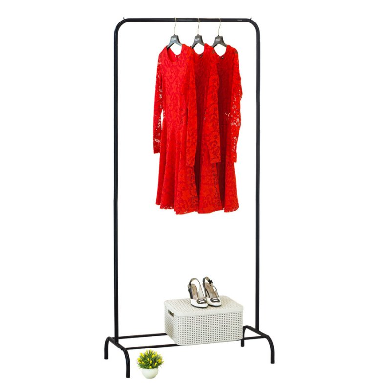 Стойка для одежды Fenster Лофт 1Б Черный 210х100х48,5