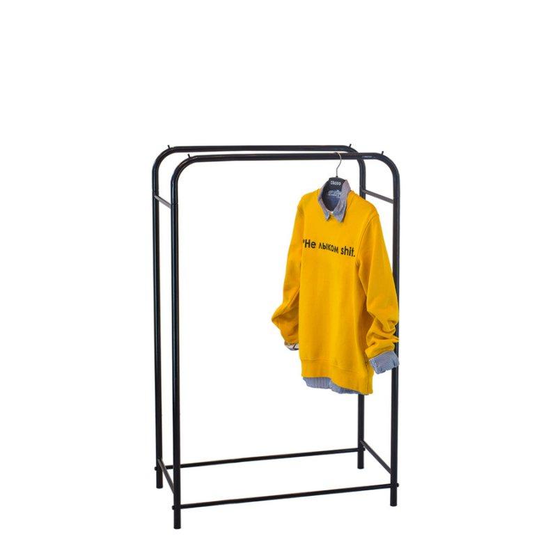 Стойка для одежды Fenster Лофт 11Б Черный 135х100х48,5