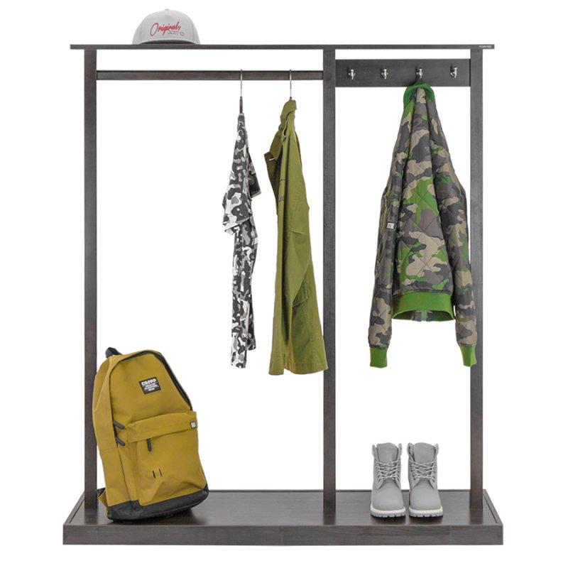 Стойка для одежды Fenster Дельта 2 Венге