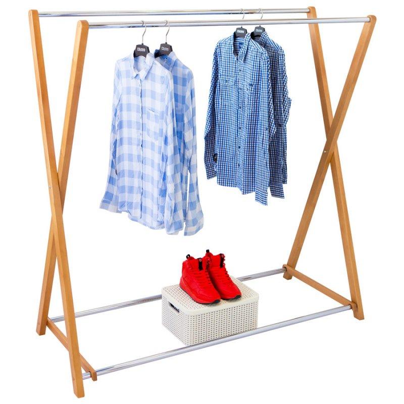 Стойка для одежды Fenster Модус 3 Бук 150x150x60