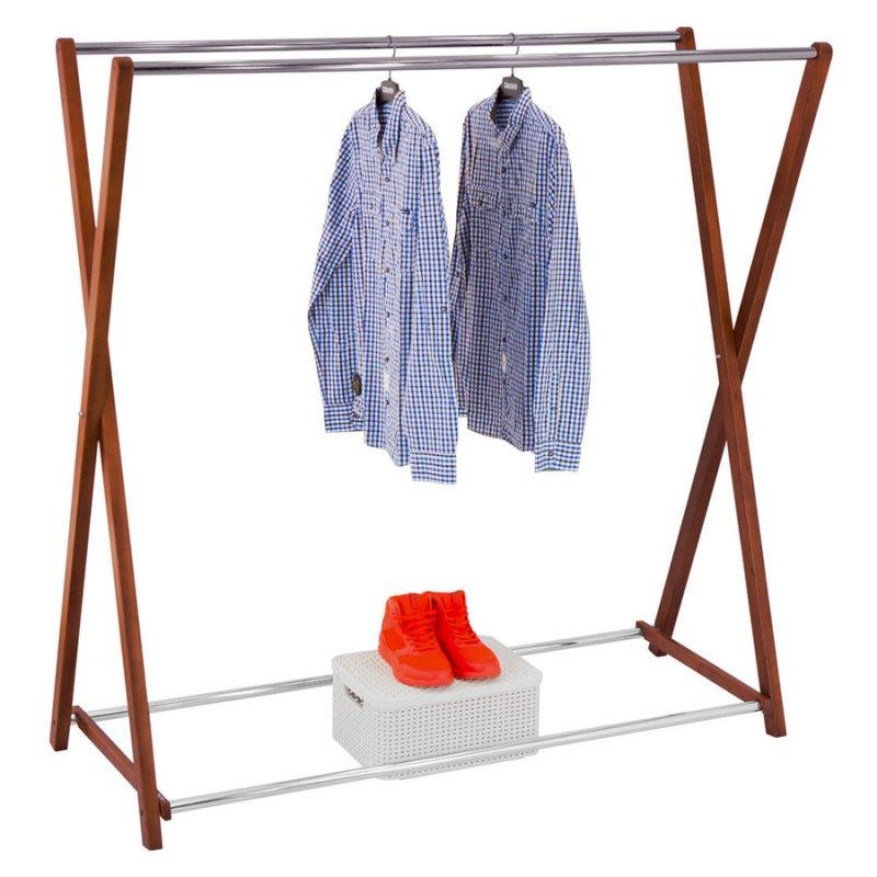 Стойка для одежды Fenster Модус 3 Коричневый 150x150x60