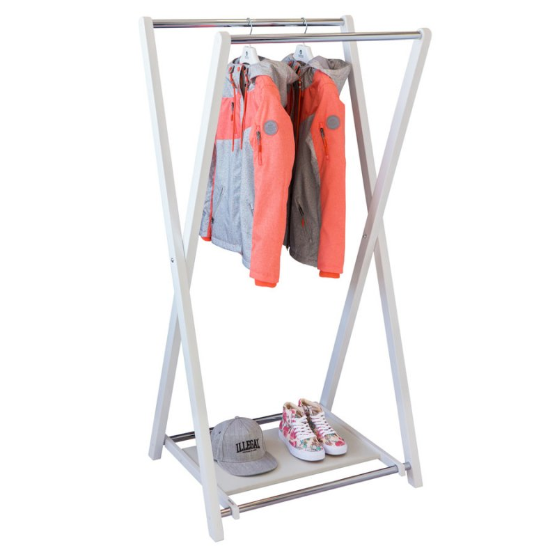 Стойка для одежды Fenster Модус 3П Белый 150x75x60