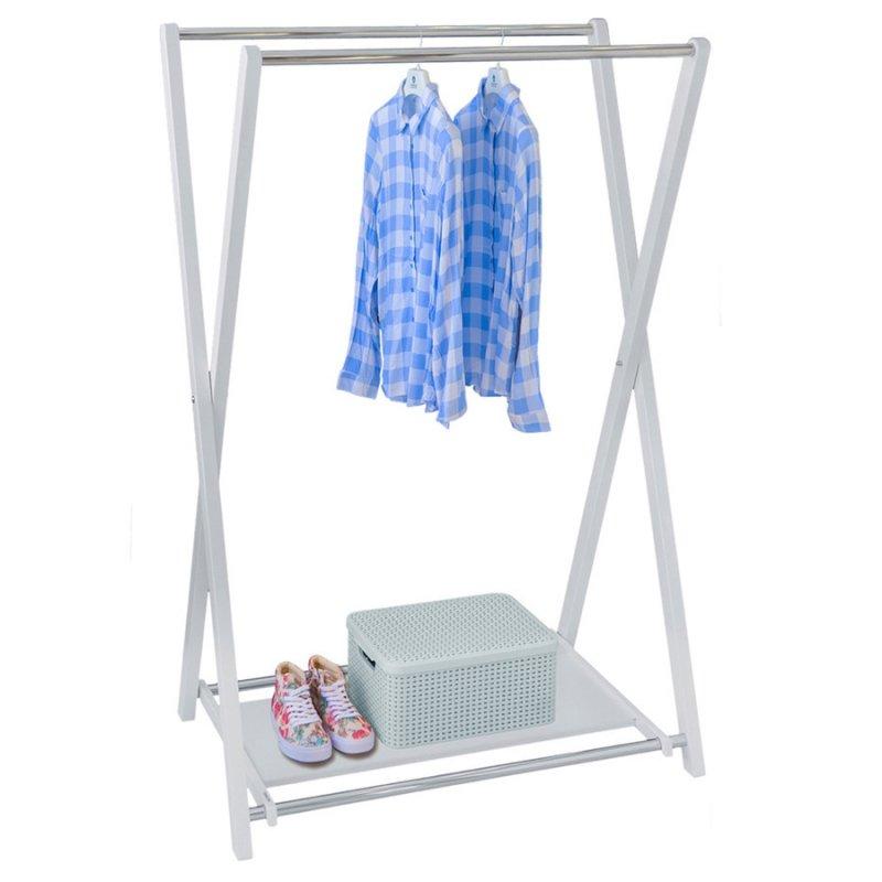Стойка для одежды Fenster Модус 3П Белый 150x100x60