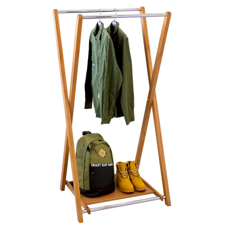 Стойка для одежды Fenster Модус 3П Бук 150x75x60