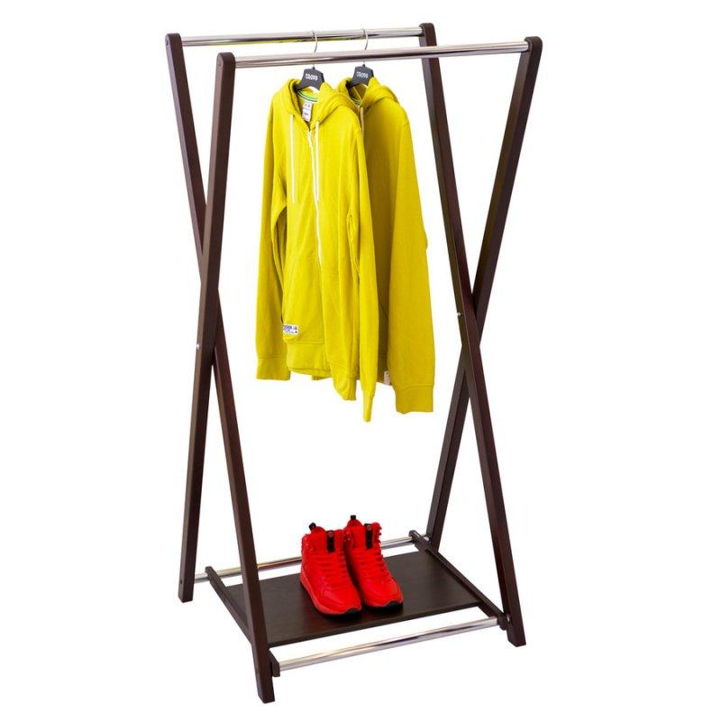 Стойка для одежды Fenster Модус 3П Венге 150x75x60