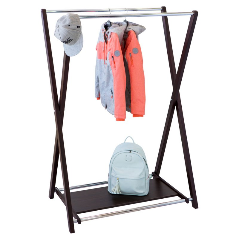 Стойка для одежды Fenster Модус 3П Венге 150x100x60