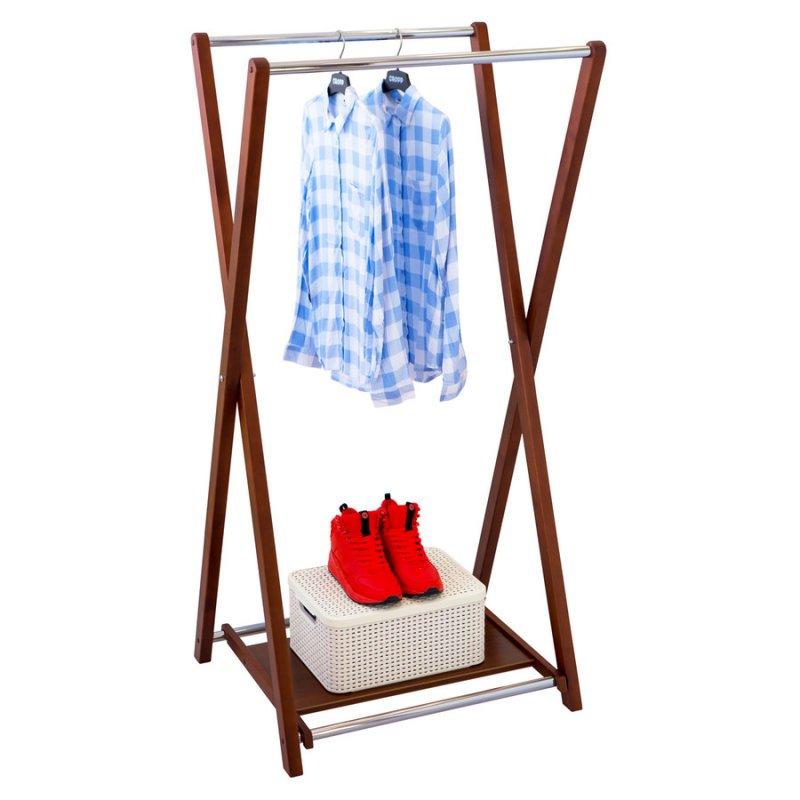Стойка для одежды Fenster Модус 3П Коричневый 150x75x60
