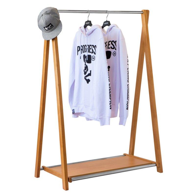 Стойка для одежды Fenster Модус 2П Бук 146x100x48,5