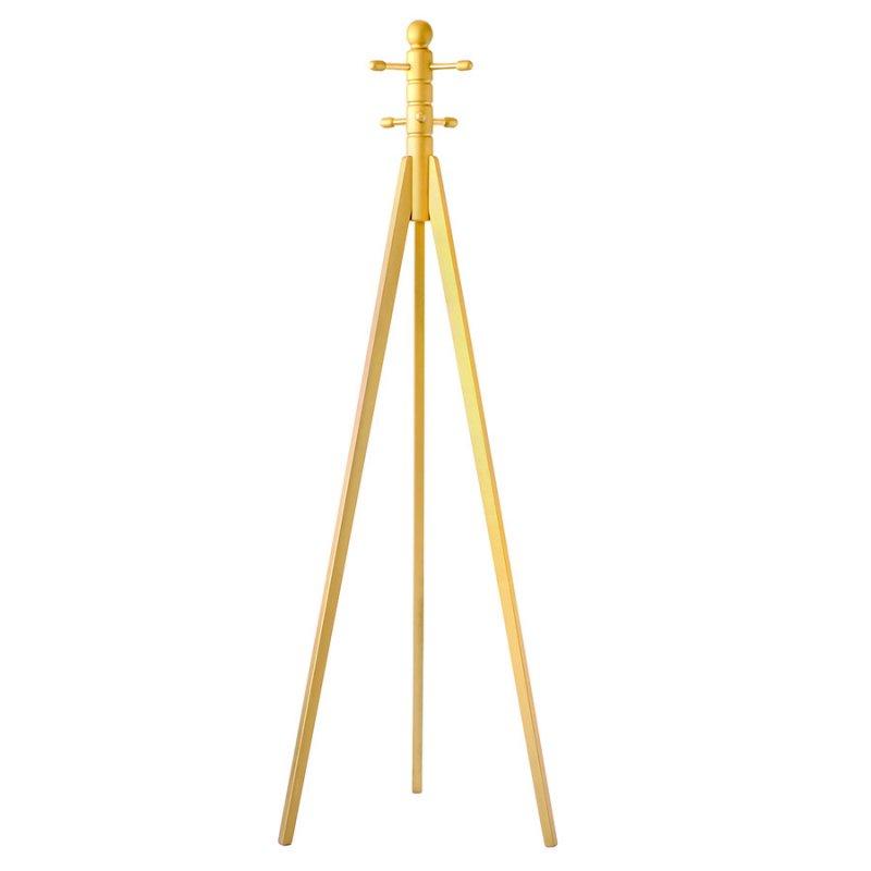 Офисная вешалка Fenster Трио 1 золото