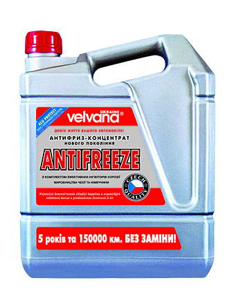 El anticongelante VELRED G12 plus