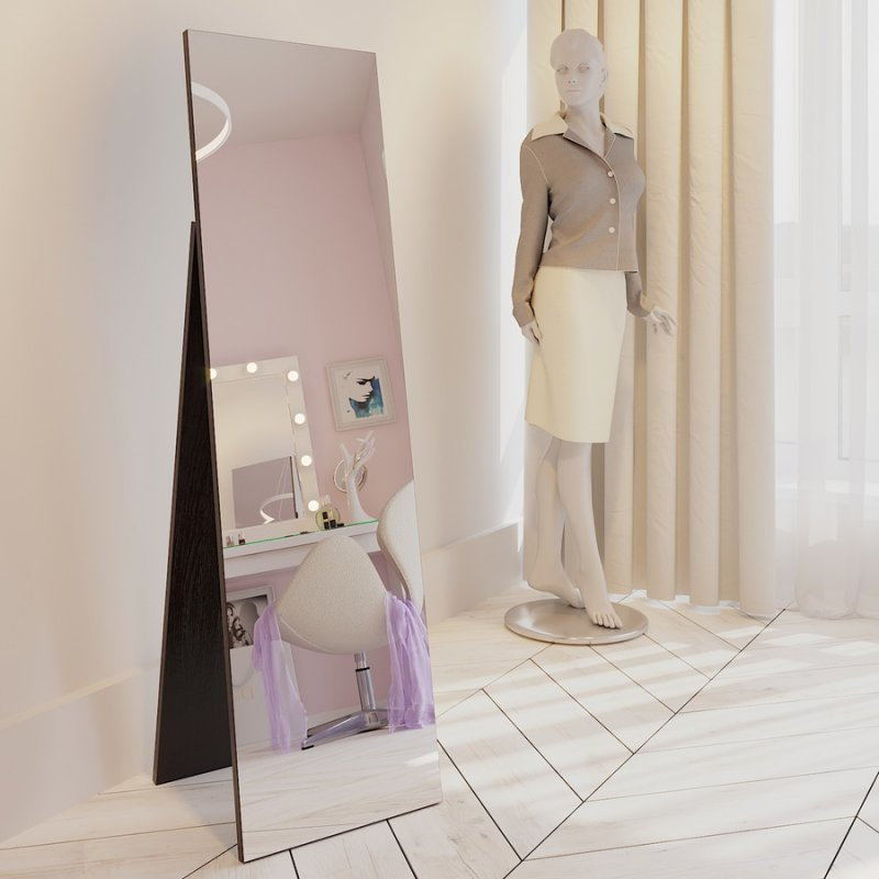 Напольное зеркало Fenster Жаклин венге 157,5x44,5x47