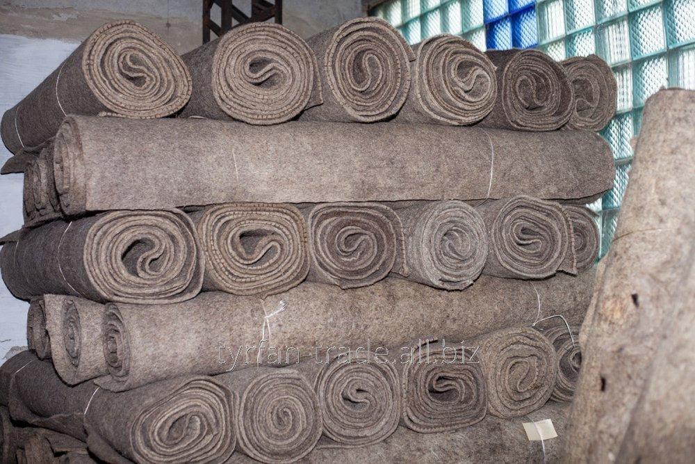 Купить Войлок на пружинный блок толщ от 5,0 до 20 мм